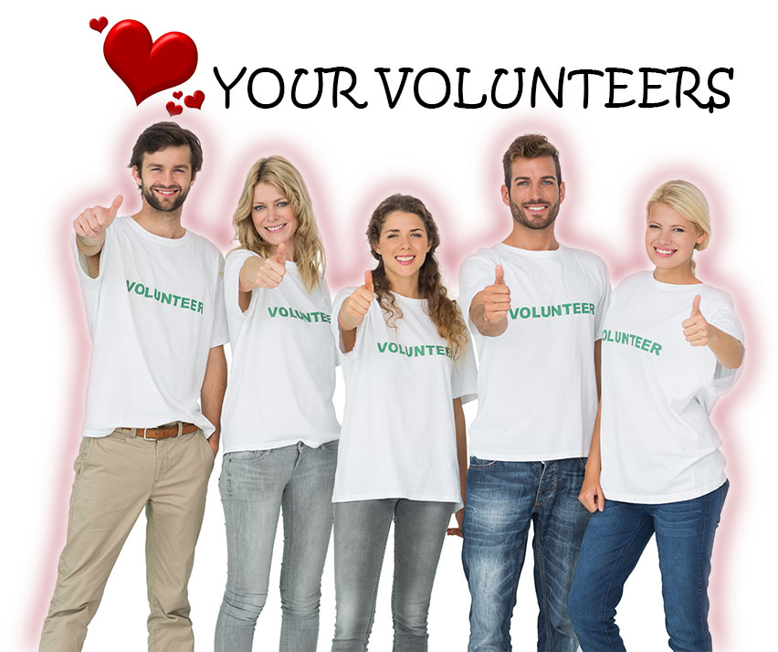 love your volunteers