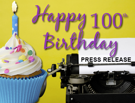 Still relevant after all these years - Happy 100th birthday to the press release