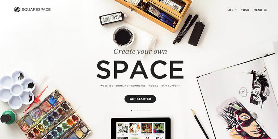 squarespace stories